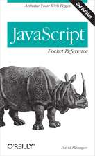 JavaScript Pocket Reference 3e
