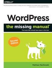 WordPress – The Missing Manual 2e