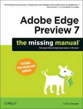 Adobe Edge Animate Preview 7 – Missing Manual