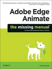 Adobe Edge Animate – The Missing Manual