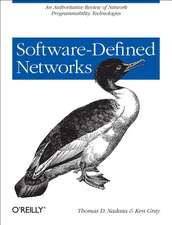 SDN – Software Defined Networks