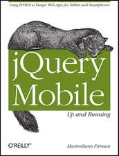 jQuery Mobile – Up and Running