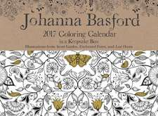 Johanna Basford: 2017 Coloring Calendar