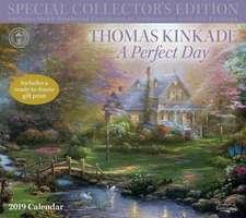 Thomas Kinkade Special Collector's Edition 2019 Deluxe Wall Calendar