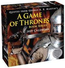 Quotes from George R. R. Martin's a Game of Thrones Book Series 2019 Day-To-Day