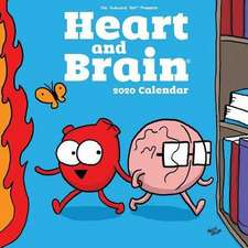 Heart and Brain 2020 Square Wall Calendar