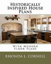 Historically Inspired House Plans with Modern Floor Plans:  Poems