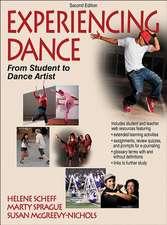 Experiencing Dance