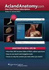 AclandAnatomy.com: One-Year Online Subscription