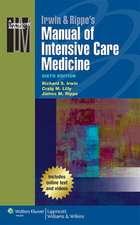 Irwin & Rippe's Manual of Intensive Care Medicine