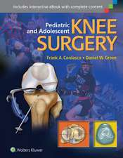Pediatric and Adolescent Knee Surgery