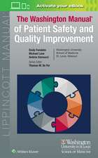 Washington Manual of Patient Safety and Quality Improvement