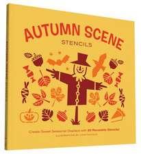 Autumn Scene Stencils