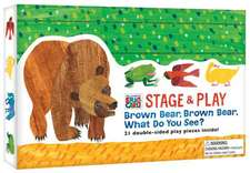 The World of Eric Carle(tm) Brown Bear, Brown Bear, What Do You See? Stage & Play:  Punch Out and Wear 15 Paper Eyeglasses!