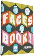 Faces Book! Journal:  Sunshine Camper