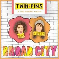 Broad City Twin Pins