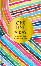 Rainbow One Line a Day