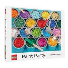 LEGO Paint Party Puzzle. 1000 Pieces