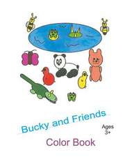 Bucky and Friends Color Book
