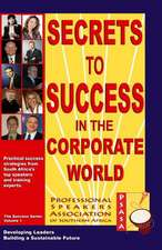 Secrets to Success in the Corporate World
