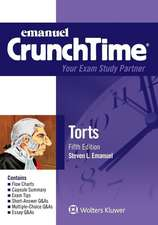 Crunchtime:  Torts 5e