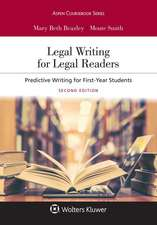 LEGAL WRITING FOR LEGAL READER