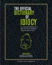 Official Dictionary of Idiocy
