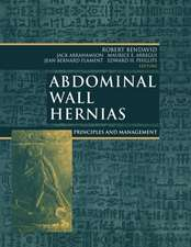 Abdominal Wall Hernias: Principles and Management