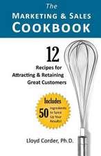 The Marketing & Sales Cookbook