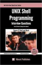 Unix Shell Programming Interview Questions You'll Most Likely Be Asked:  Doce Expertos Hispanoamericanos Te Dicen Como Lograrlo