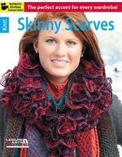 Skinny Scarves:  20 Quick & Easy Projects