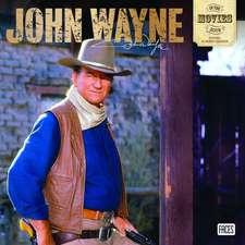 John Wayne in the Movies 2019 Square Wall Calendar