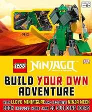 Lego Ninjago:  Build Your Own Adventure