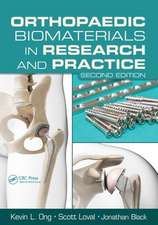 Orthopaedic Biomaterials in Research and Practice, Second Edition:  Homeland Security and Emergency Preparedness, Third Edition