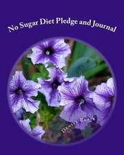 No Sugar Diet Pledge and Journal