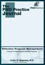 The Pmo Practice Journal