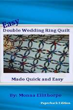 Easy Double Wedding Ring Quilt