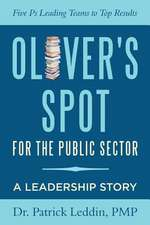 Oliver's Spot for the Public Sector
