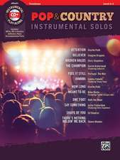 Pop & Country Instrumental Solos Trombone: Book & CD [With CD (Audio)]