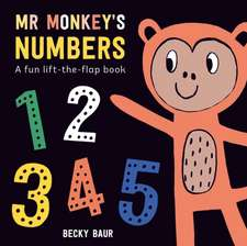 Mr Monkey's Numbers: A Fun Lift-the-Flap Book