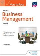 How to Pass Higher Business Management