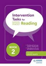 Intervention Tasks for Reading Book 2