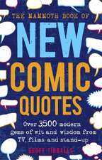 Mammoth Book of New Comic Quotes