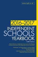 Independent Schools Yearbook 2016-2017