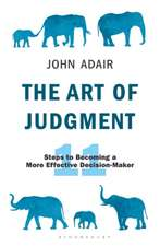 Art of Judgment