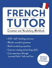 French Tutor:  Grammar and Vocabulary Workbook