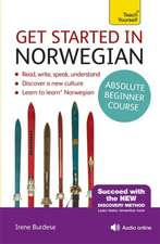 Get Started in Beginner's Norwegian:  Learn English as a Foreign Language with Teach Yourself
