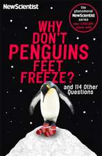 New Scientist: Why Don't Penguins' Feet Freeze?