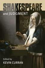 Shakespeare and Judgment