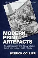 COLLIER MODERN PRINT ARTEFACTS